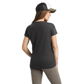 Prana Cozy Up T-shirt Femme, charcoal heather